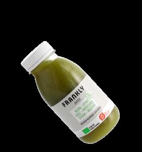 Frankly Juice bottle