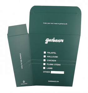 Garbanzo pita box design