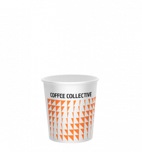 Coffee Collective branded takeaway coffee cup
